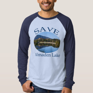 Blue on Blue Raglan with website on back Shirt