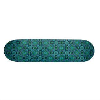 Blue On Blue Skateboard