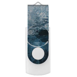 Blue on Blue USB Drive