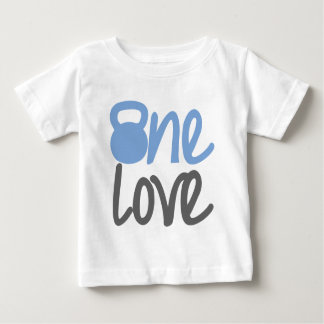 "Blue ""One Love"" Baby T-Shirt"