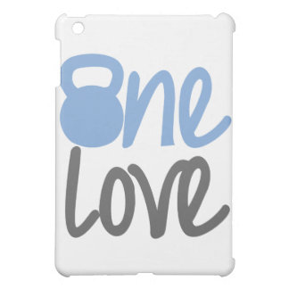 """Blue """"One Love"""" Cover For The iPad Mini"""