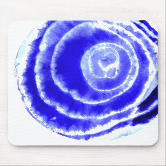 Blue Onion Mouse Pad