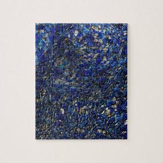 Blue opal jigsaw puzzle