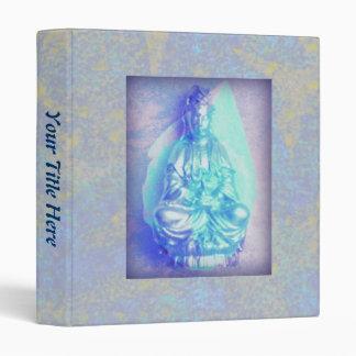 Blue Opal Kwan Yin binder