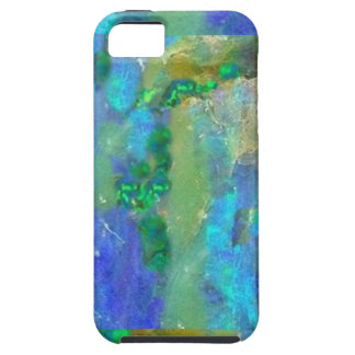 Blue Opal October Birthstone by Sharles iPhone SE/5/5s Case