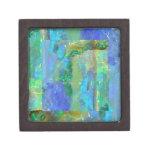 Blue Opal October Birthstone by Sharles Premium Trinket Boxes