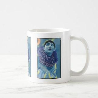 Blue Opera Clown Coffee Mug