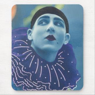 Blue Opera Clown Mouse Pad