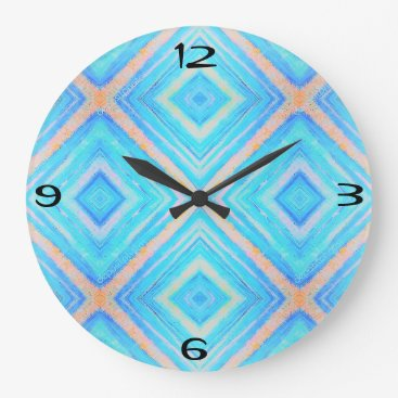 merydesigns Blue orange clock