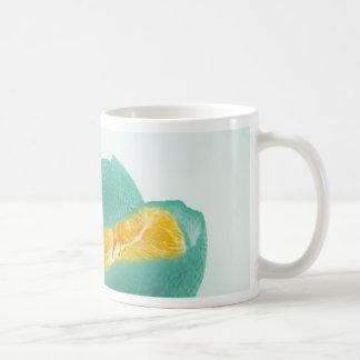 blue orange coffee mug