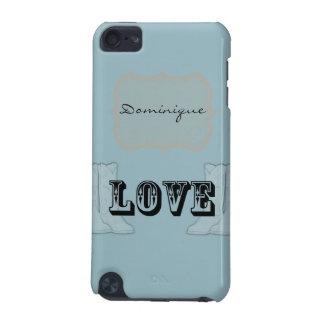 Blue Orange Country Boots Love iPod Touch 5G Cover