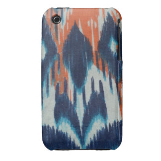 Blue & Orange Diamond iPhone 3G/3Gs, Barely There iPhone 3 Case