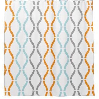 Modern Gray Shower Curtain Best Mid Century Modern Grey
