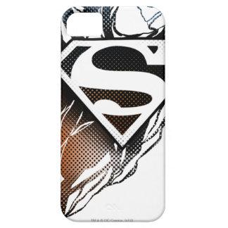 Blue-Orange Superman Logo iPhone 5 Cover