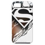 Blue-Orange Superman Logo iPhone 5 Cases