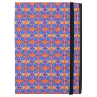 "Blue Orange Yellow Swirl Pattern iPad Pro 12.9"" Case"
