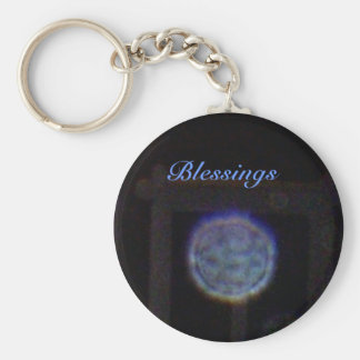 Blue Orb - Blessings Keychain