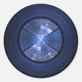Blue Orb Sticker