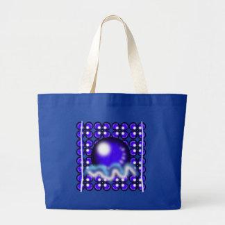Blue Orbs Bag