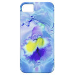 Blue Orchid Flower iPhone 5 Cover
