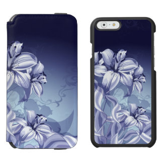 Blue Orchid iPhone 6/6s Wallet Case