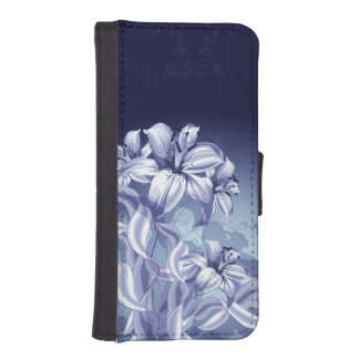Blue Orchid iPhone SE/5/5s Wallet