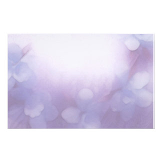 blue orchids and lace stationery