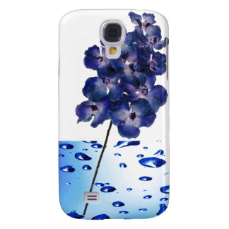 Blue Orchids - Flower iPhone Case Galaxy S4 Case