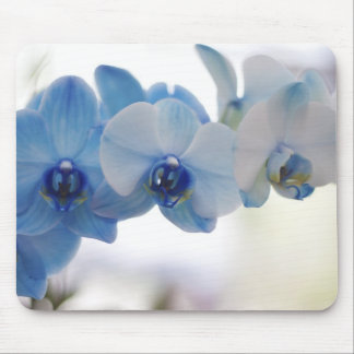Blue Orchids Mouse Pad