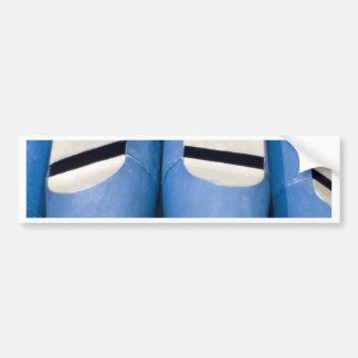 Blue Organ Pipes Bumper Sticker