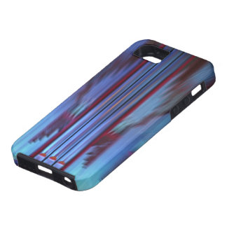 Blue organ pipes iPhone 5 cover