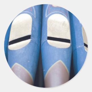 Blue Organ Pipes Sticker