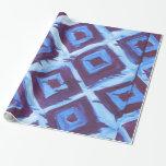 Blue organic iKat Gift Wrap