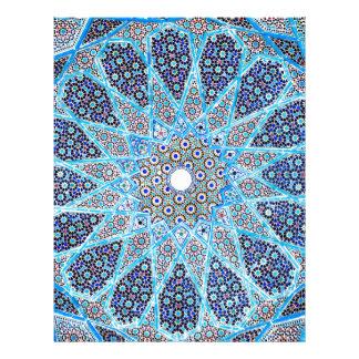 Blue Orient Letterhead