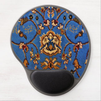 Blue Oriental Rug Gel Mouse Pad