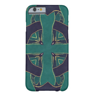 Blue Ornament Barely There iPhone 6 Case