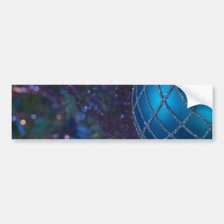 Blue Ornament Bumper Sticker