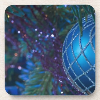 Blue Ornament Coasters