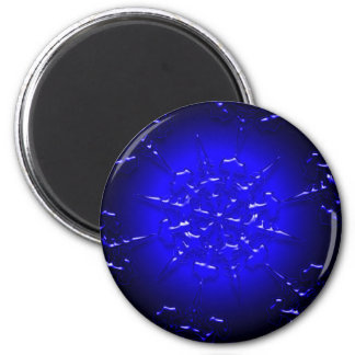 Blue Ornament Magnet