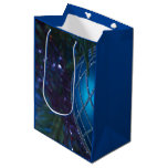Blue Ornament Medium Gift Bag
