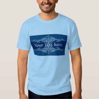 Blue Ornaments Shirt