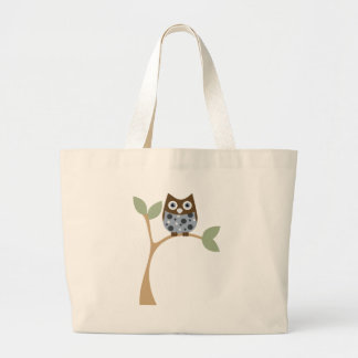 Blue Owl Baby Large Tote Bag
