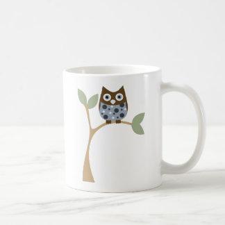 Blue Owl Baby Coffee Mugs