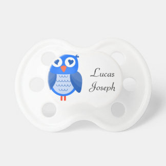 Blue Owl Baby BooginHead Pacifier