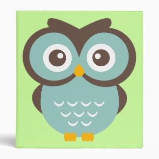 Blue Owl binder