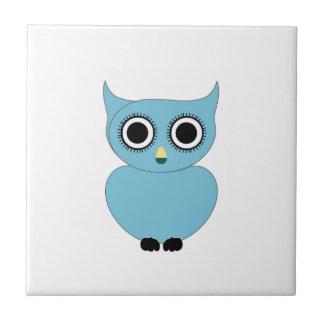 Blue owl- bird of prey tiles