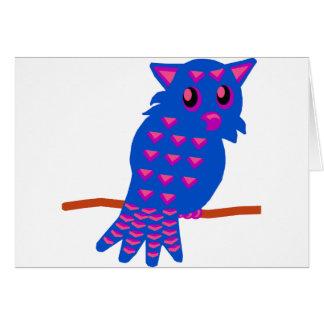 Blue Owl Card