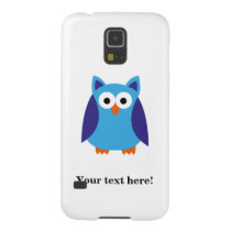 Blue owl cartoon galaxy s5 case