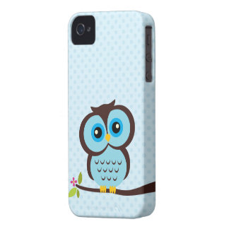 Blue Owl Case for the iPhone 4