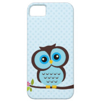 Blue Owl Case for the iPhone 5